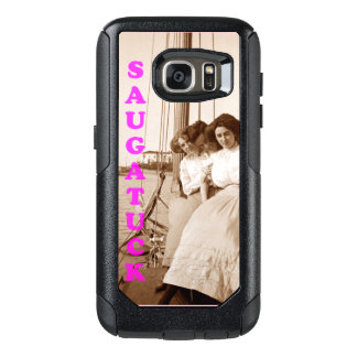 Vintage Sailing Photo Phone Case Saugatuck