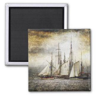 Vintage Sailing Ship Magnet