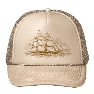 Vintage Sailing Ship Trucker Hat