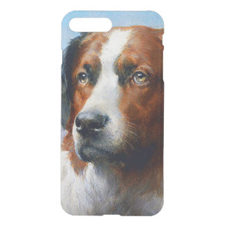 Vintage Saint Bernard Dog iPhone 8 Plus/7 Plus Case