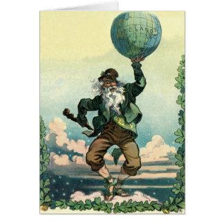 Vintage : Saint Patrick's day - Card