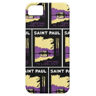 Vintage Saint Paul, Minnesota iPhone 5 Cases