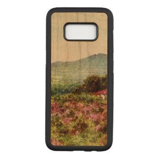 Vintage, Samsung, Galaxy S8, Slim Cherry Wood Case