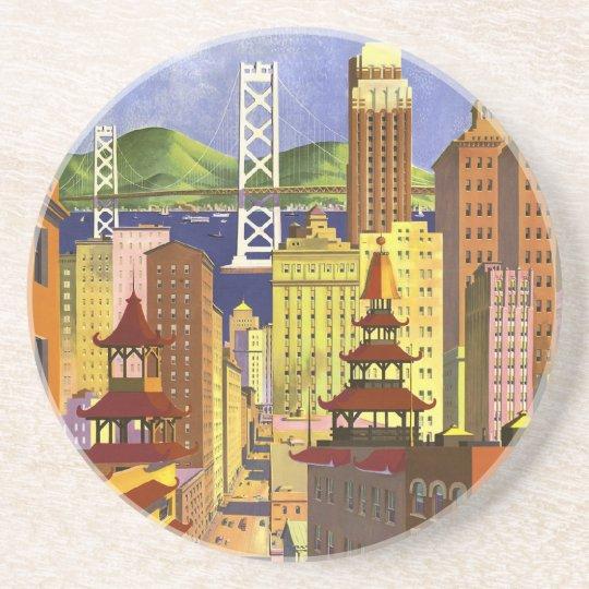 Vintage San Francisco Coaster