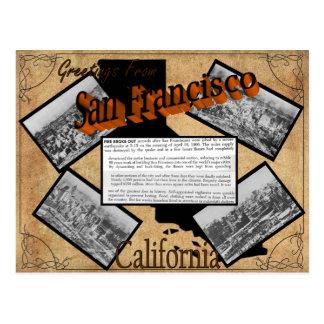Vintage San Francisco History Postcard