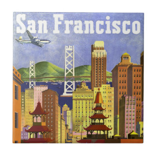 Vintage San Francisco Tile