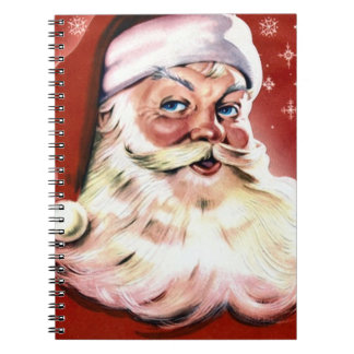 Vintage Santa Christmas Notebooks