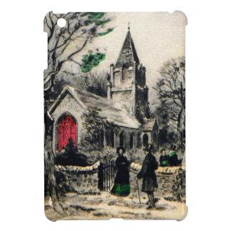 vintage-santa-christmas-post-cards-0005 iPad mini case