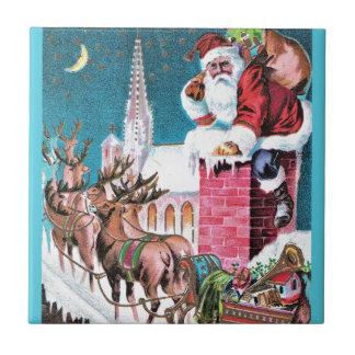 vintage-santa-christmas-post-cards-0011 tile