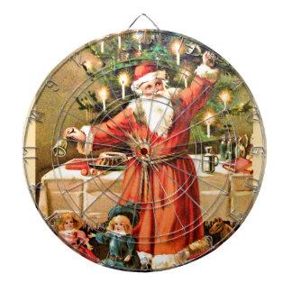 vintage-santa-christmas-post-cards-0018 dartboard