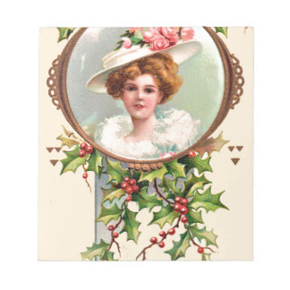 vintage-santa-christmas-post-cards-0019 notepad