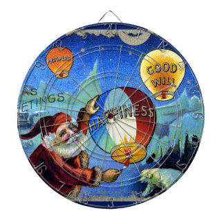 vintage-santa-christmas-post-cards-0025 dartboard
