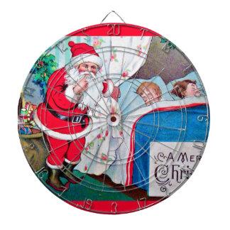 vintage-santa-christmas-post-cards-0026 dartboard