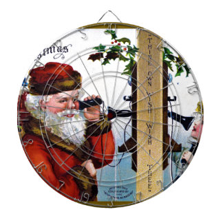 vintage-santa-christmas-post-cards-0027 dartboard