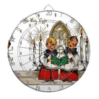 vintage-santa-christmas-post-cards-0029 dartboard