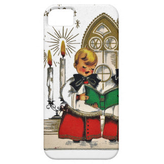 vintage-santa-christmas-post-cards-0029 iPhone 5 cases