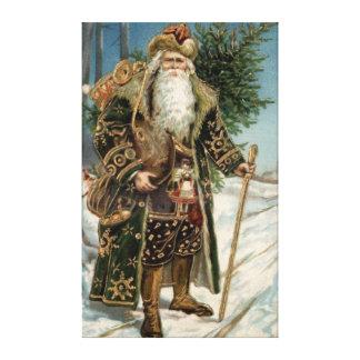 Vintage Santa Claus 3 Canvas Print