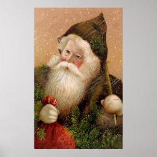 Vintage Santa Claus 8 Poster