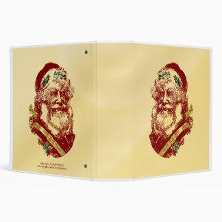 Vintage Santa Claus Binder