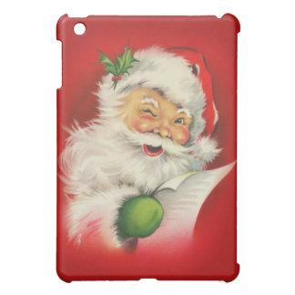Vintage Santa Claus Christmas Case For The iPad Mini
