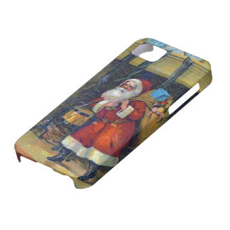Vintage Santa Claus Christmas iPhone 5 Case