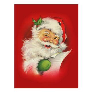 Vintage Santa Claus Christmas Postcard