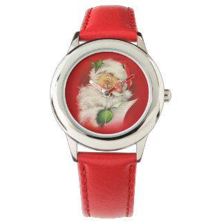 Vintage Santa Claus Christmas Watch