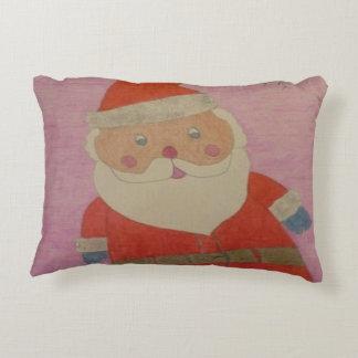 Vintage Santa Claus Decorative Pillow