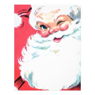 Vintage Santa Claus Customized Letterhead