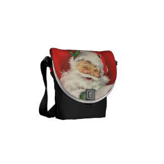Vintage Santa Claus - Mini Messenger Bag