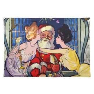 Vintage Santa Claus Placemat