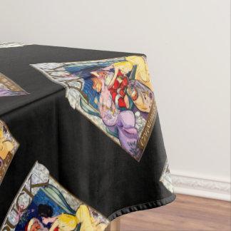 Vintage Santa Claus Tablecloth