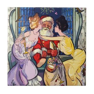 Vintage Santa Claus Tile