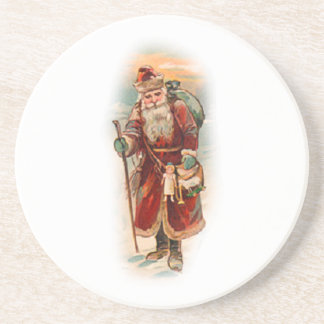 Vintage Santa Holiday Coaster