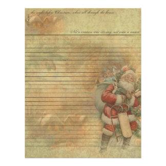 Vintage Santa- Jolly Old St. Nicholas Letterhead