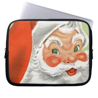 Vintage Santa Laptop Sleeve