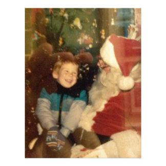 Vintage Santa Custom Letterhead
