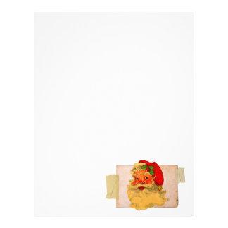 Vintage Santa Customized Letterhead