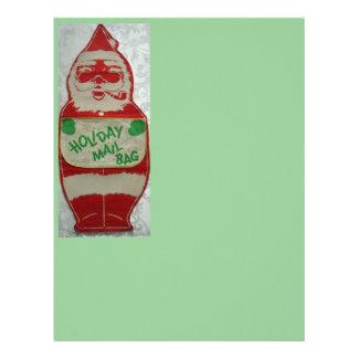 Vintage Santa Personalized Letterhead