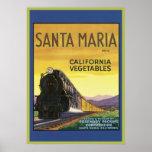 Vintage Santa Maria California Vegetables Crate La Print
