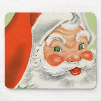 Vintage Santa Mouse Pad