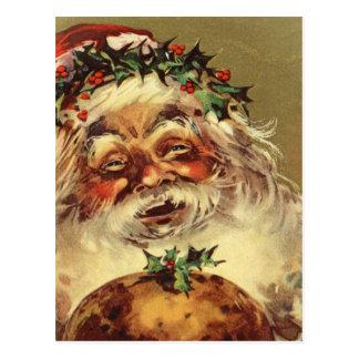 vintage Santa Postcard