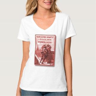 Vintage Santa Reading Naughty List t-shirt