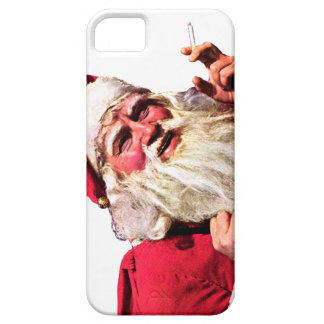Vintage Santa Smoking Cigarette iPhone 5 Covers