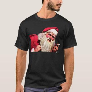 Vintage Santa Smoking Cigarette T-Shirt