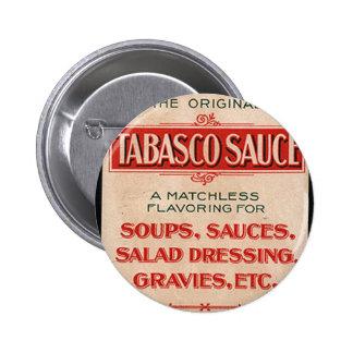 Vintage Sauce Box Advertisement Pin