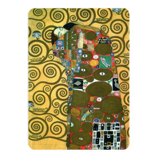 "Vintage Save the Date, Fulfillment by Klimt 5"" X 7"" Invitation Card"