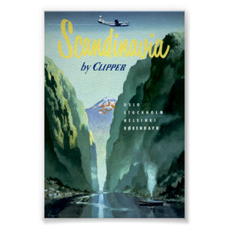 Vintage Scandinavia by Clipper Poster