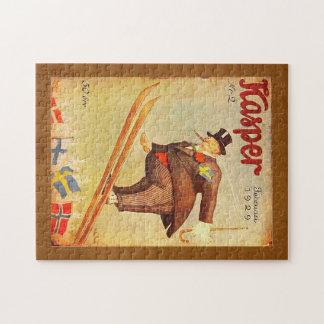 Vintage Scandinavian Cigar Ad Jigsaw Puzzle
