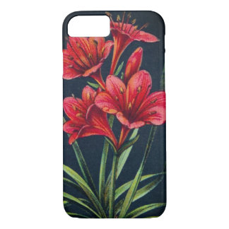 Vintage Scarborough lily phone case